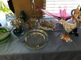 Great Italian Murano and Swedish Glass