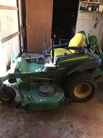 John Deere Zero Radius riding lawnmower
