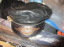 Lots of Harley clothing and accessories. (this hat is missing at the moment but we should find it in time for the sale)