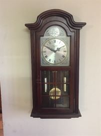 Pendulum wall clock Strausbourg Manor Movement made in Japan