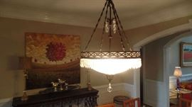 one of six Chandeliers, $850