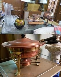 Vintage copper servers