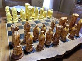 chess set ceramic