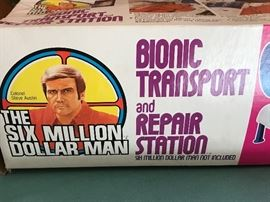 The Six Million Dollar Man Bionic Transport and Repair Station.