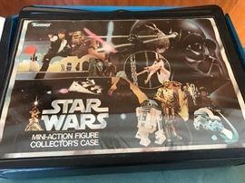 Star Wars mini-action figure colletor's Case