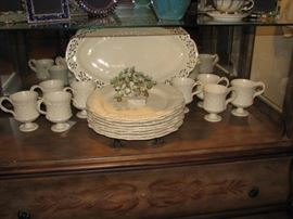 Classical Christmas china set