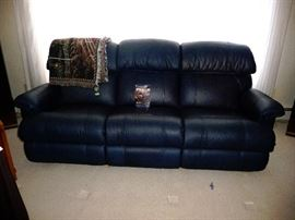 Lazy Boy Leather sofa (like new)