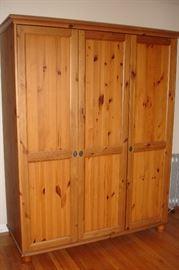 Pine armoire