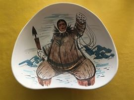Eskimo bowl-top view