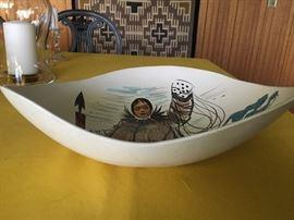 Eskimo bowl-side view