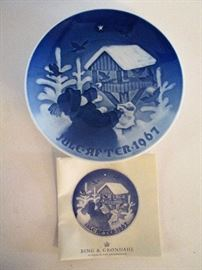 Selection of Danish Plates