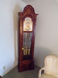 HERSCHEDE GRAND FATHER  CLOCK   WESTMINSTER  CHIME