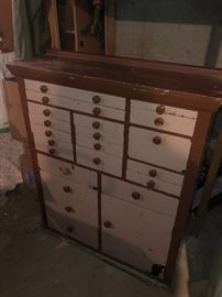 Wooden Dental Cabinet