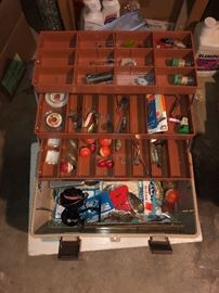Fishing and Tackle Boxes