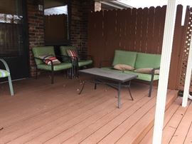 Patio Furniture with pads