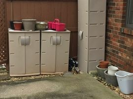 Outdoor Storage Cabinets / Pots