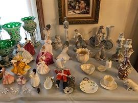 Royal Doulton & Lladro Figurines