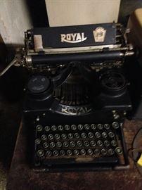 Royal Open Reel Typewriter