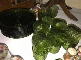 Vintage snack set