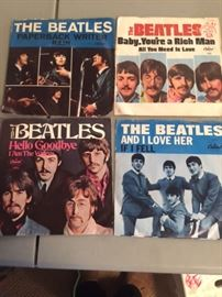 The Beatles 45s