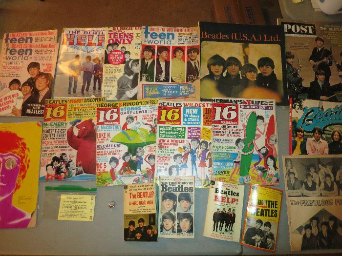 More Vintage Beatles Memorabilia