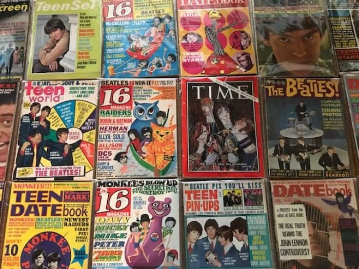 Vintage Teen Magazines From The 1960s