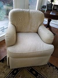 Great neutral side chair