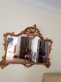 One of several antique gorgeous mirrors