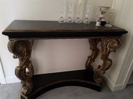 Fabulous foyer console table