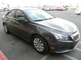 2011 Chevy Cruze, 26k Miles, Sun City Garage Kept Car. Like New Interior, Runs Great, Car Fax