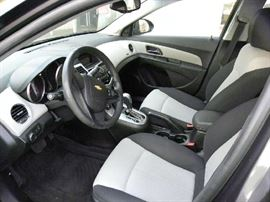 Interior of 2011 Chevy Cruze, Like New!!
