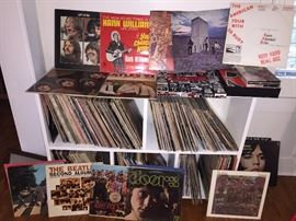 1960s LP record collection