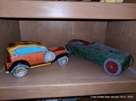 Vintage car collectibles