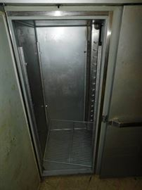 Hobart QF2 Commercial 2 Door Freezer working unit