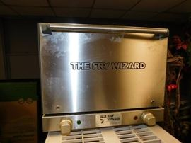 Fry Wizard Greaseless Fryer,hoodless,ventless,comm ...