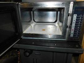 Amana RCS10TS Medium-Duty Microwave Oven, 1000W wo ...