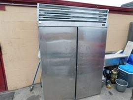 Hobart Model DAF2 S/S 2 Door Freezer