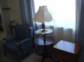 pie table and sewing table