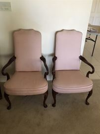 Antique Queen Anne Armchairs