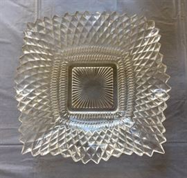 Vintage Indiana Clear Candy Dish