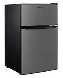Galanz Double Door Compact Refrigerator