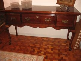 Matching Dixie cherry sideboard