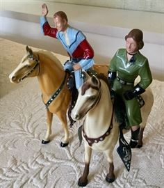 Vintage Toys...Roy Rogers and Dale Evans