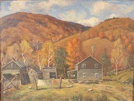 Burnam painting