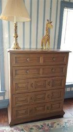 $75  Tall dresser