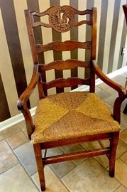Rooster, county motif table and chair set
