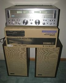 Sansui receiver and Advent speakers