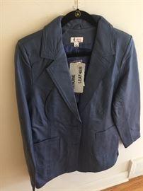 Women's clothing - leather jacket