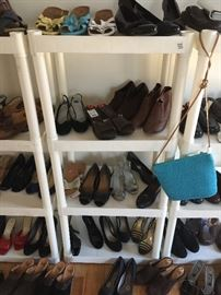 about 80+ pairs of new shoes!  Most are size 6 1/2 - 7 1/2