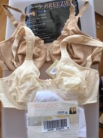 dozens of new undergarments! - These are a sample of many new bras from Barely Breezies and Bali (most size 38B)